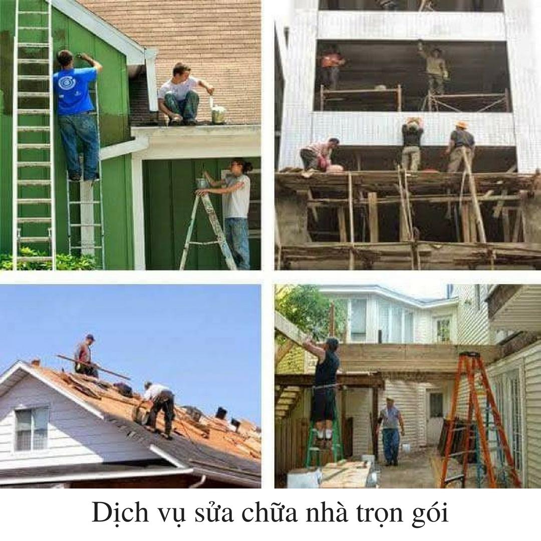 Những điều cần quan tâm khi thuê dịch vụ sửa chữa nhà trọn gói