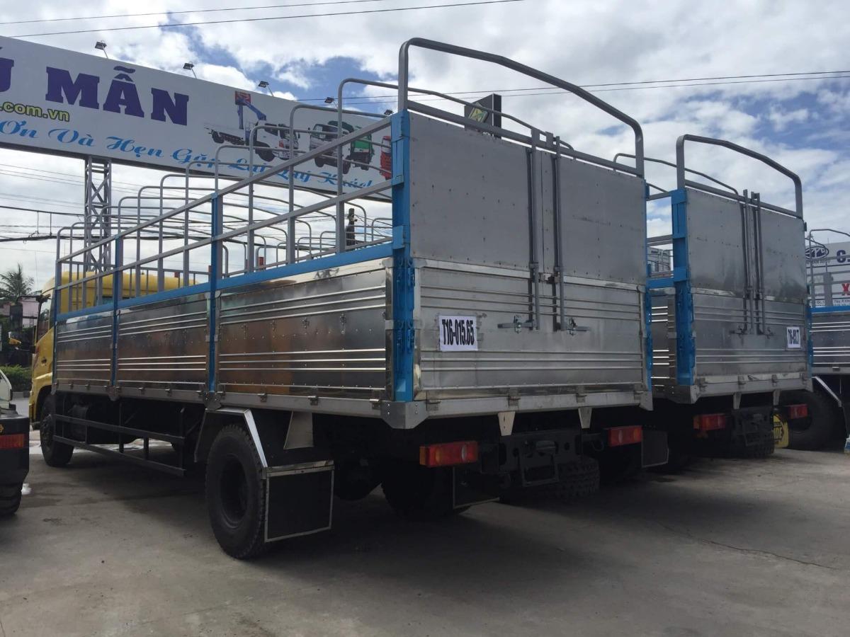 thùng xe tải dongfeng b170 hoàng huy