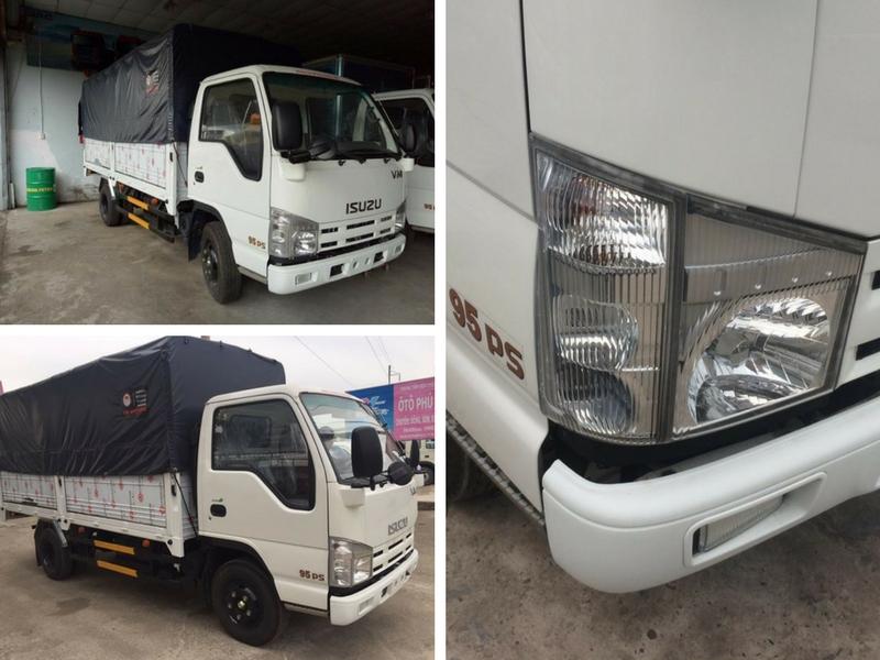 Xe tải Isuzu 3t5 nhập khẩu 3 cục Nhật Bản - Xe tải Isuzu nhập khẩu linh kiện lắp ráp tại Việt Nam giá cực sốc