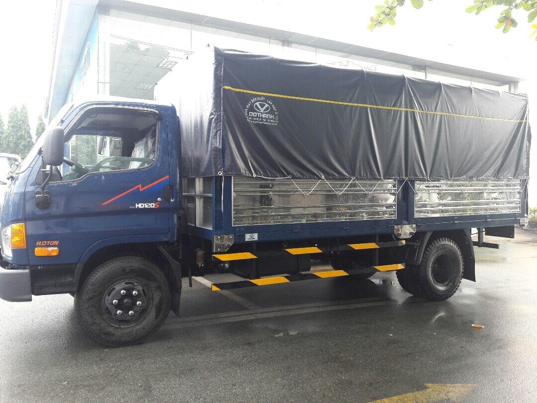Ưu điểm của xe tải Hyundai 8 tấn thùng dài 6m2