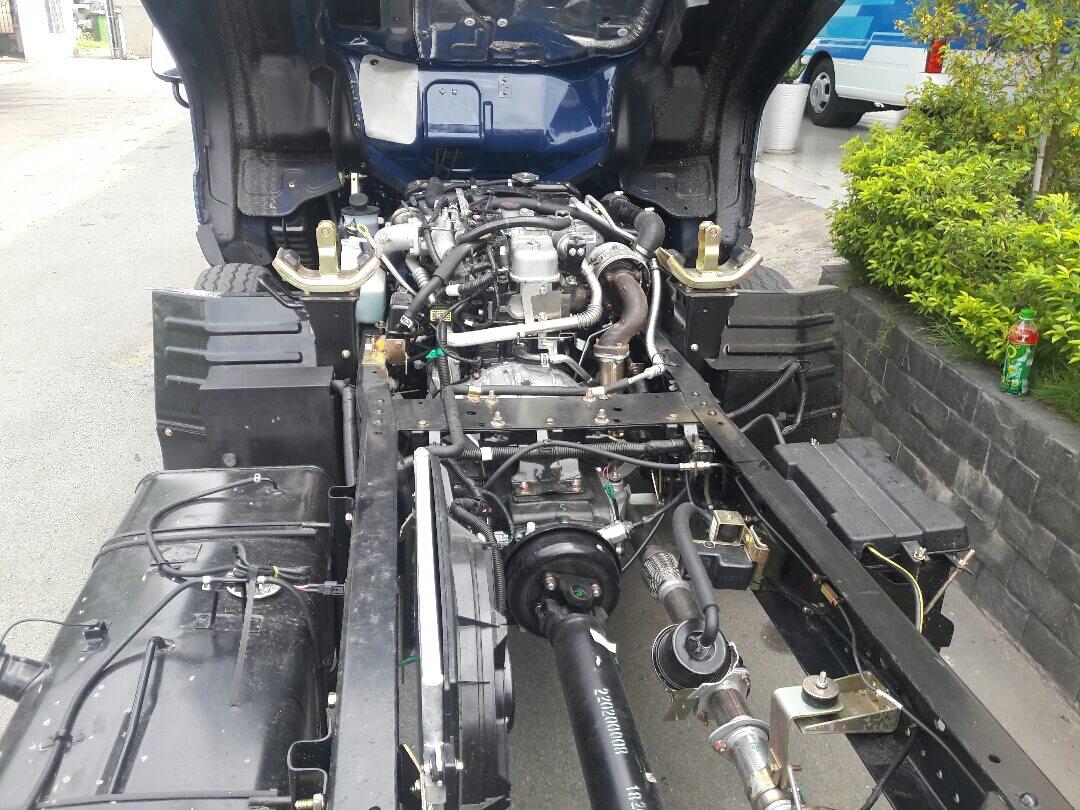 Ưu điểm về động cơ của xe tải hyundai iz49 euro 4, xe tải iz49 plus