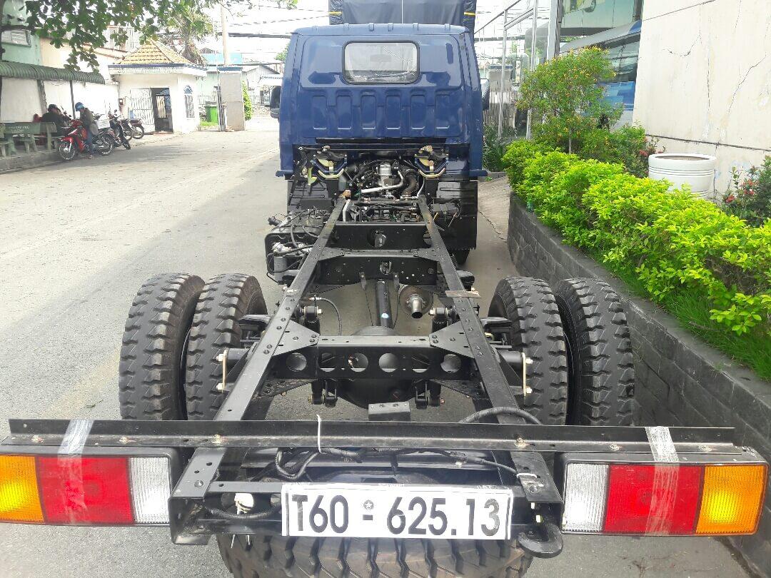 Ưu điểm về khung chassi xe tải hyundai iz49 euro 4, xe tải iz49 plus