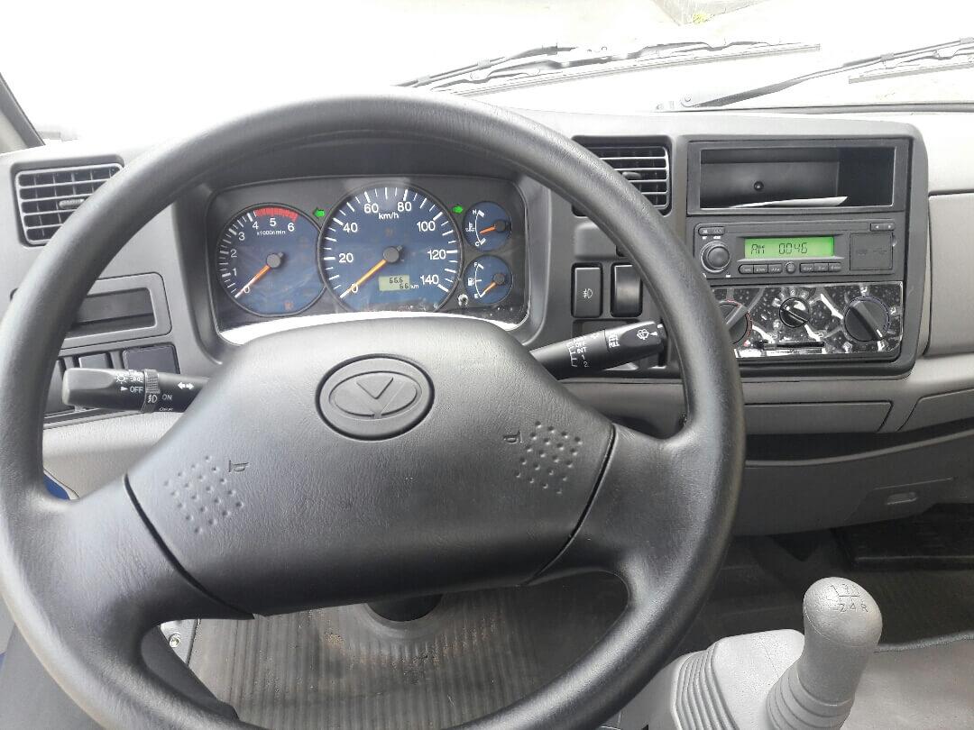 Ưu điểm về trang bị nội xe tải hyundai iz49 euro 4