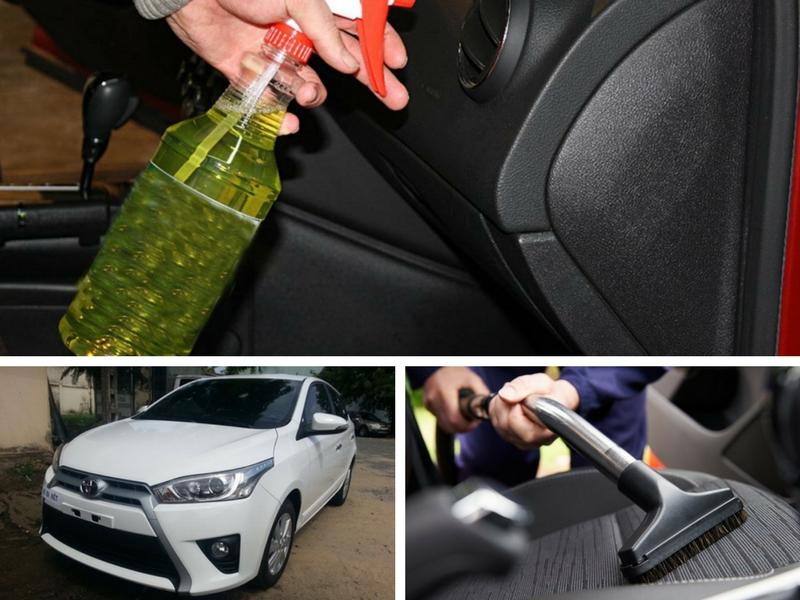 Cách khử mùi xe ô tô hiệu quả