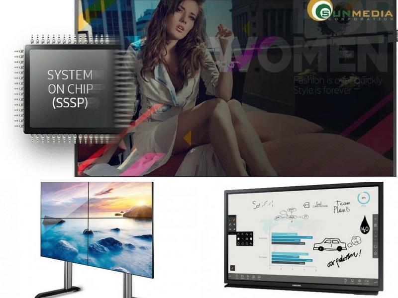 Ưu điểm và tính năng chính của nền tảng SSSP trong màn hình chuyên dụng Samsung