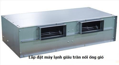 Hải long Vân cung cấp máy lạnh âm trần nối ống gió Daikin giá rẻ đúng tiêu chuẩn đúng model