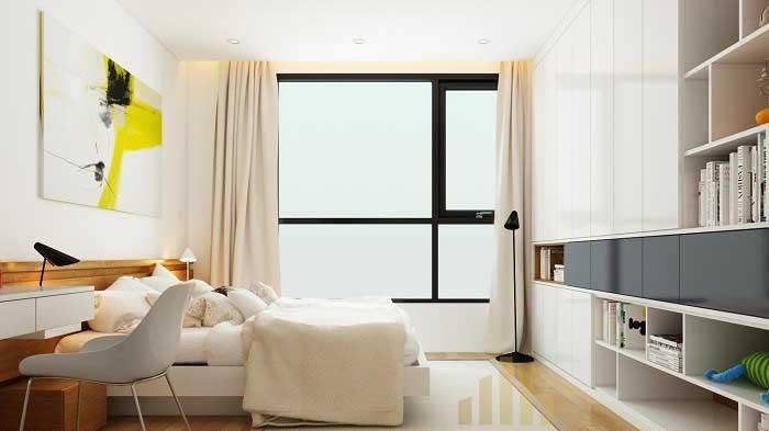 Thiết kế nội thất phòng ngủ 8m2 siêu đẹp và hiện đại
