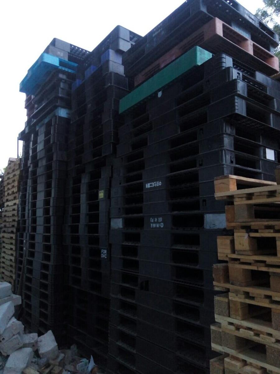 Pallet nhựa cũ giá rẻ 1140x1140x130 mm
