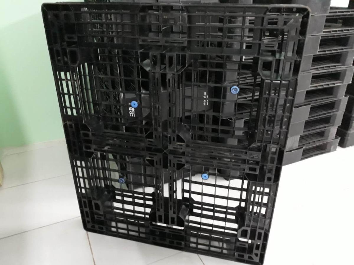 Pallet nhựa cũ giá rẻ 1100x1100x150mm