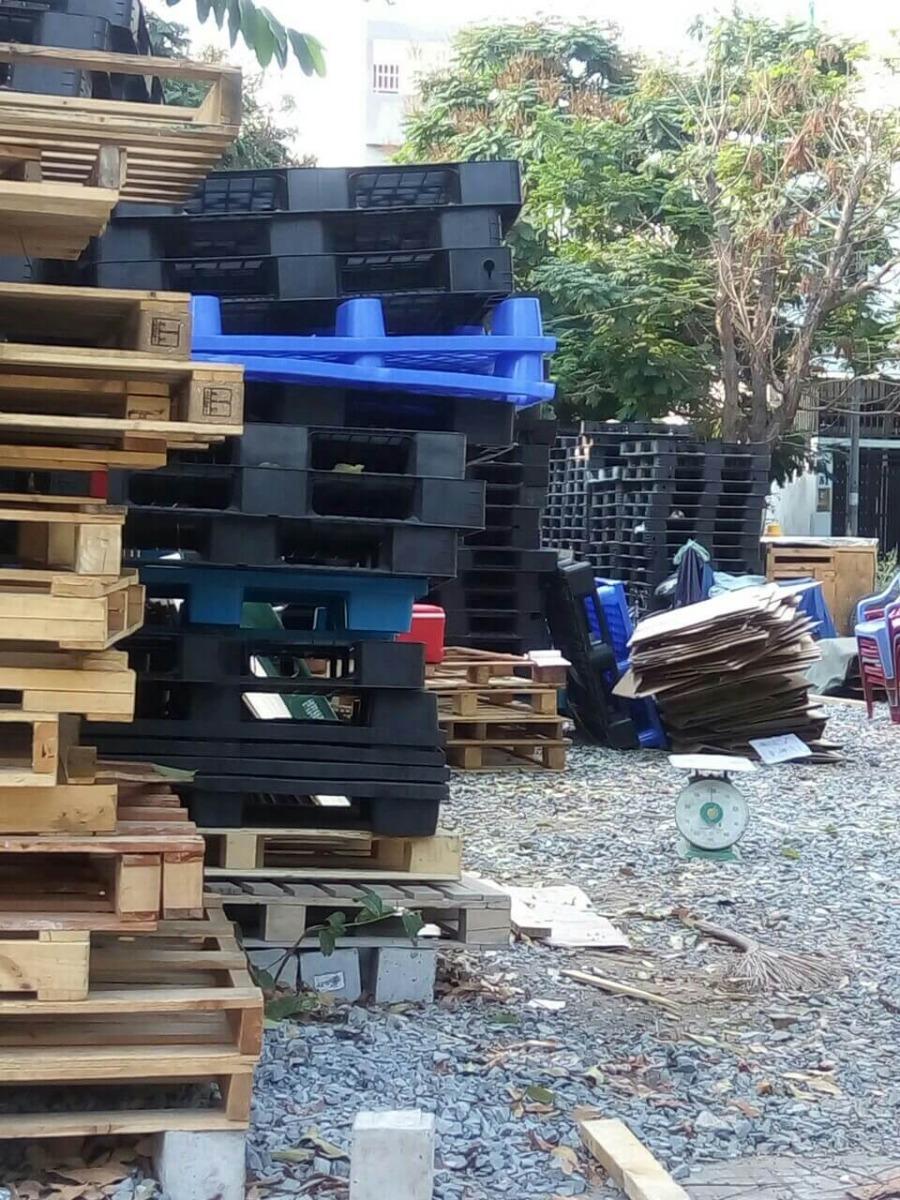 Các kích thước pallet nhựa phổ biến tại Bình Dương