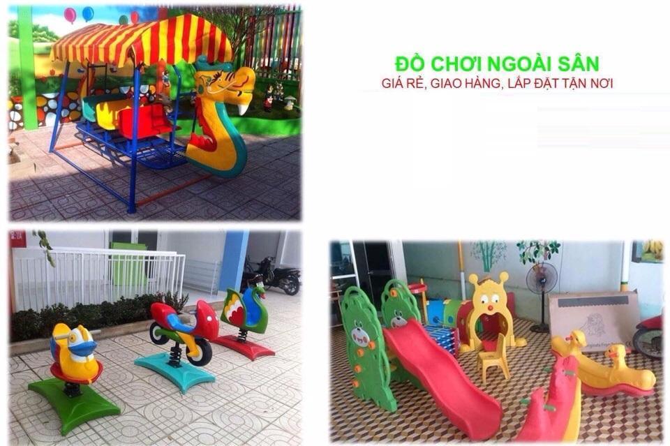 Những lợi ích của đồ chơi ngoài trời đối với sự phát triển của trẻ mầm non