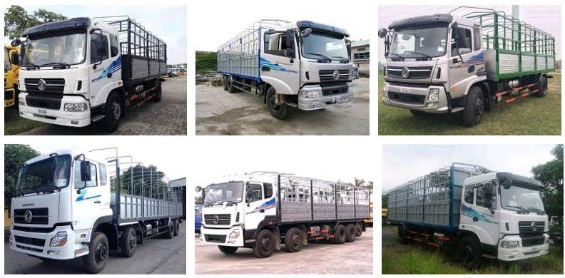 xe tải Dongfeng Trường Giang 9.6 tấn