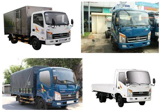 Xe tải 1.5 tấn Veam VT150