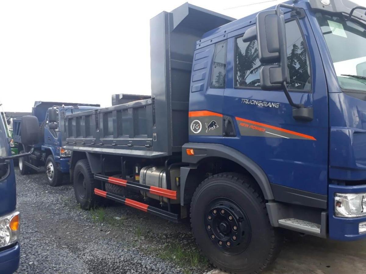 Đánh giá chất lượng xe tải ben Trường Giang