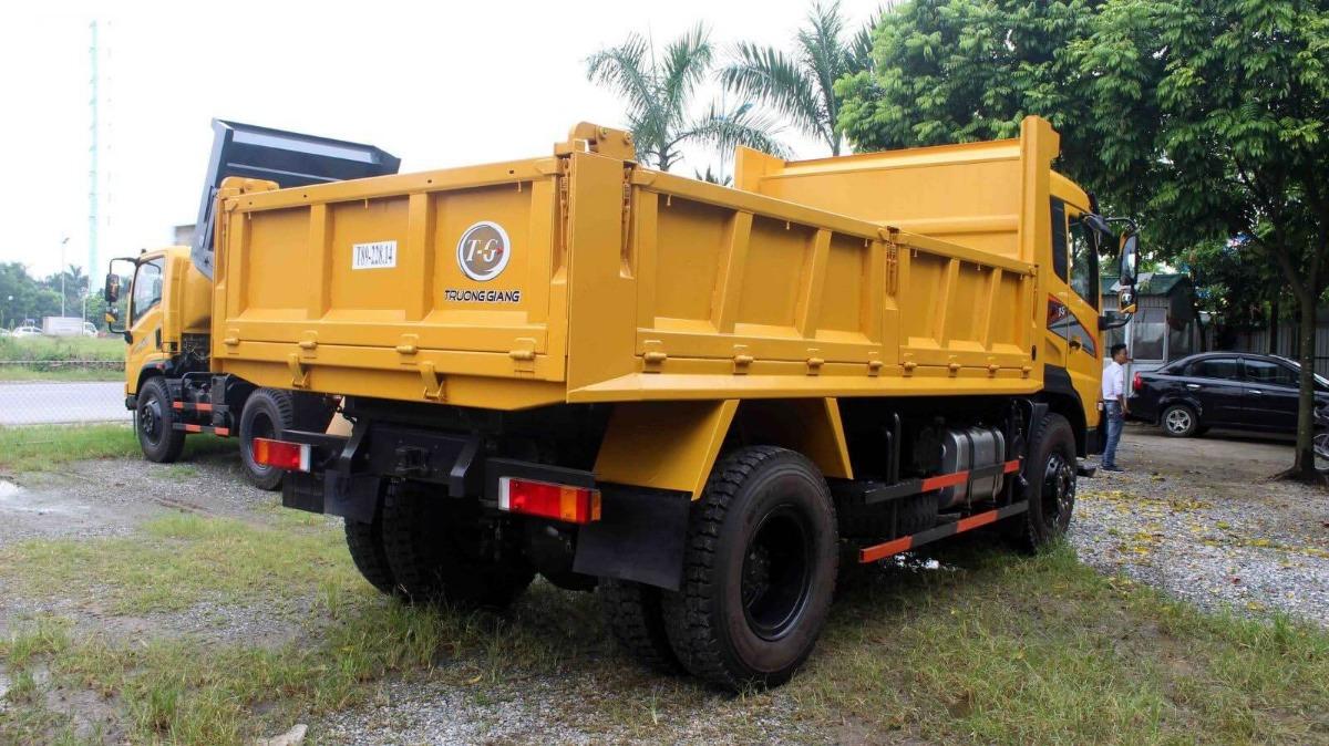 Xe tải ben Trường Giang có thiết kế chắc chắn