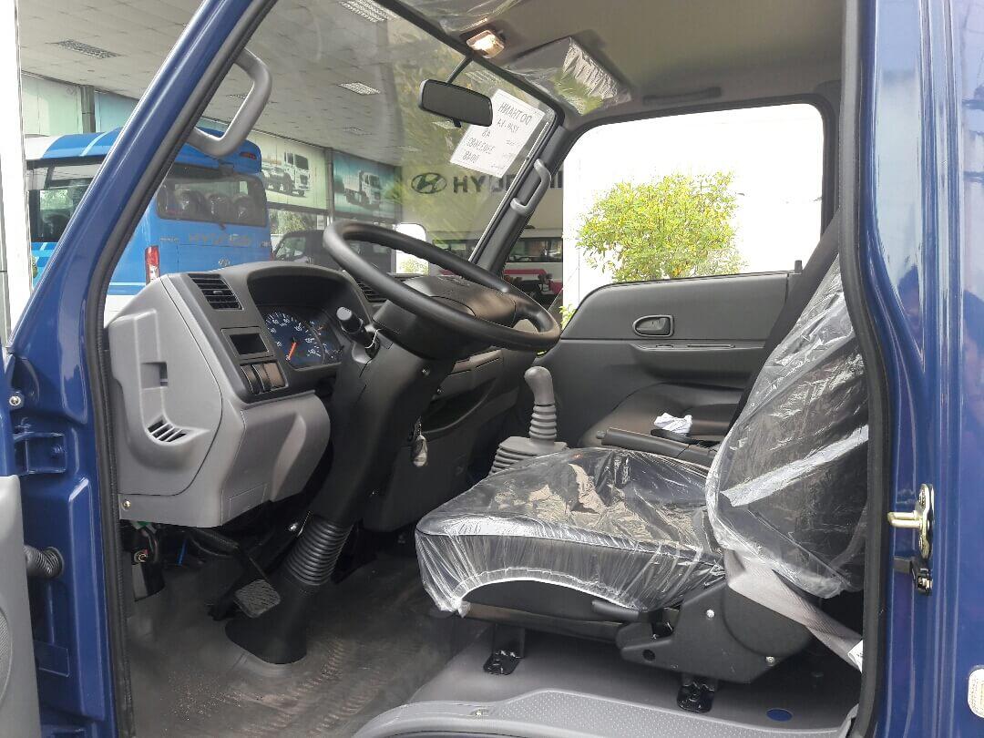 Ưu điểm về trang bị nội, ngoại thất xe tải hyundai iz49 euro 4